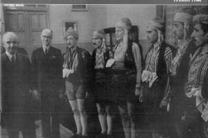 1940 İsmet İnönü ile