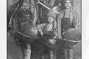 1951 Mustafa Tahtakıran ve çocukları