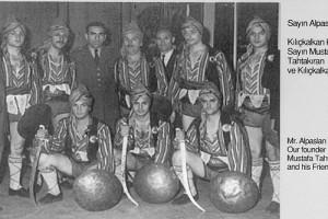 1960 Alpaslan Türkeş ile