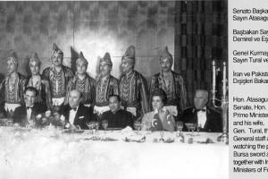 1967 Süleyman Demirel,İran ve Pakistan C.Başkanları ile