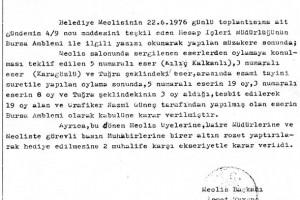 1976 Meclis kararı