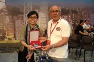 HongKong Festival Komitesi Başkanı ile (2012)