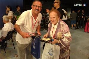 Avustralya Kafile Başkanı ile (2012 HongKong)