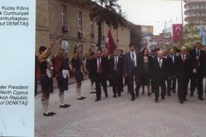 2011 K.K.T.C. Kurucu Cumhurbaşkanı Sn.Rauf DENKTAŞ ile